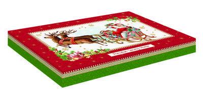 Vánoční podnos servírovací VINTAGE XMAS 35x23 cm, Easy Life - 4