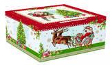 Vánoční šálek & podšálek VINTAGE SANTA RED 250 ml, Easy Life - 4/4