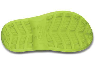 Holínky HANDLE IT RAIN BOOT KIDS C11 volt green, Crocs - 4