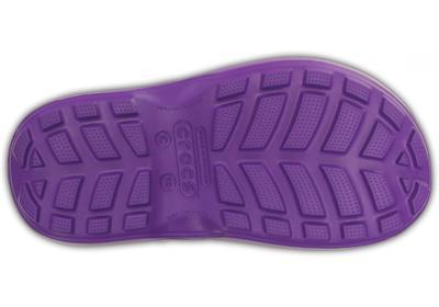 Holínky HANDLE IT RAIN BOOT KIDS J2 neon purple, Crocs - 4