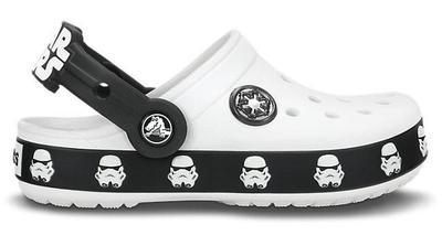 Boty STAR WARS STORMTROOPER CLOG C8/9 white/black, Crocs - 4