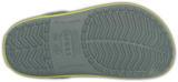Boty CROCBAND KIDS J2 concrete/chartreuse, Crocs - 4/6