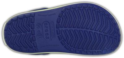 Boty CROCBAND KIDS J2 cerulean blue/volt green, Crocs - 4