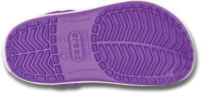 Boty CROCBAND KIDS C6/7 neon purple/neon magenta, Crocs - 4