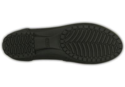 Balerínky MARIN COLORLITE FLAT W6 black/black, Crocs - 4