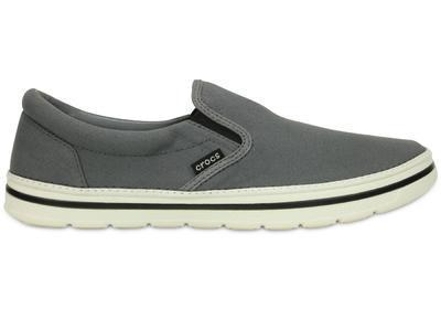 Boty NORLIN SLIP-ON MEN'S M13 charcoal/white, Crocs - 4