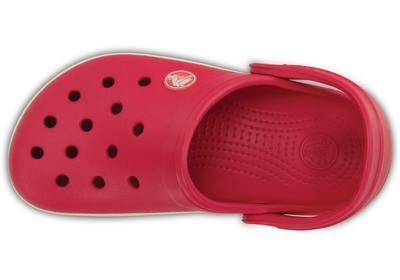 Boty CROCBAND KIDS J1 raspberry/white, Crocs - 4