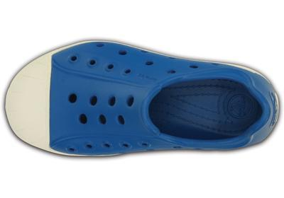 Boty BUMP IT SHOE KIDS C10 ultramarine/oyster, Crocs - 4