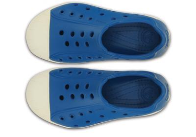 Boty BUMP IT SHOE KIDS J1 ultramarine/oyster, Crocs - 4