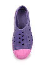 Boty BUMP IT SHOE KIDS C10 blue/violet, Crocs - 4/4