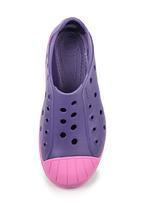 Boty BUMP IT SHOE KIDS C12 blue/violet, Crocs - 4/5