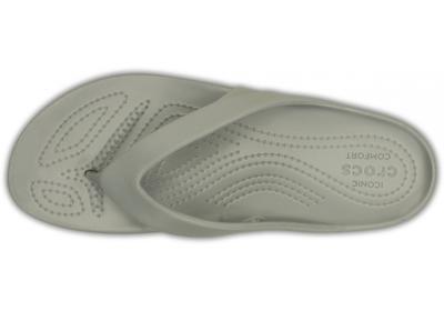 Žabky WOMEN'S KADEE II FLIP W11 silver, Crocs - 4