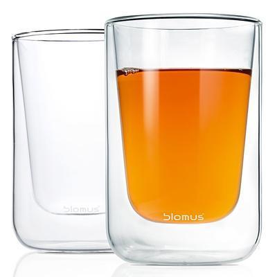 Sada 2 ks - termosklenice cappuccino NERO 250 ml, Blomus - 4