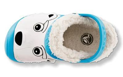 Boty POLAR BEAR LINES C6/7 electric blue, Crocs - 4