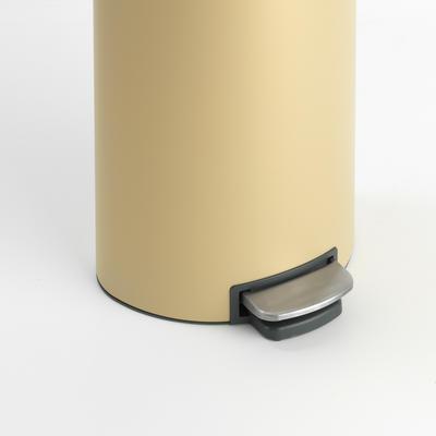 Pedálový koš FlatBack + Silent 30l, minerální zlatá , Brabantia   - 4