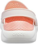 Boty LITERIDE CLOG M9/W11 barely pink/white, Crocs - 4/6