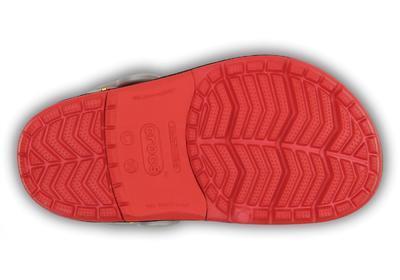 Boty CROCSLIGHTS ROBO SHARK CLOG C10 red/silver, Crocs - 4