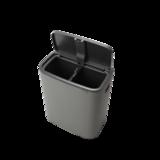 Odpadkový koš Touch Bin 2x30L , minerální světle šedá, Brabantia - 4/6