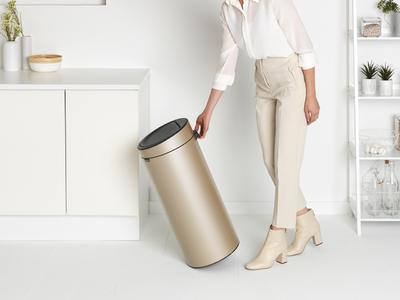 Odpadkový koš Touch Bin 30l, champagne, Brabantia - 4