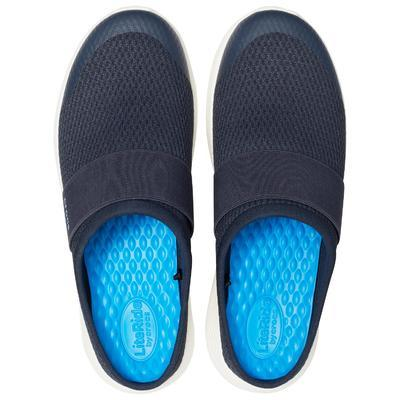 Pantofle LITERIDE MESH MULE M11 navy/white, Crocs - 4