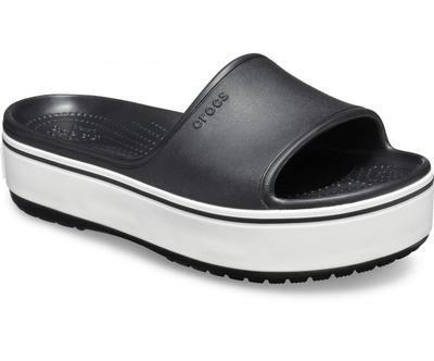 Pantofle CB PLATFORM BLD COLOR SLIDE M6/W8 black, Crocs - 4