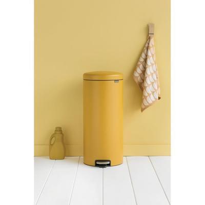 Koš pedálový NewIcon 30l, minerální žlutá, Brabantia - 4