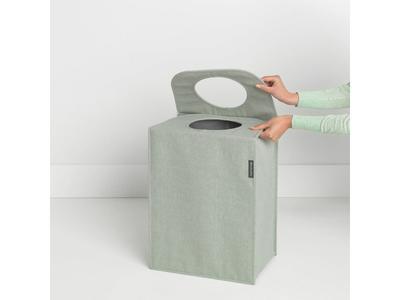 Taška na prádlo 55 l - zelený melír, Brabantia      - 4