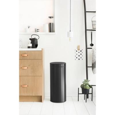 Koš odpadkový TOUCH BIN NEW 30 l - matná černá, Brabantia - 4