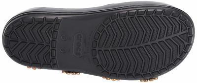 Pantofle METALLIC BLOOMS SLIDE M8/W10 black, Crocs - 4