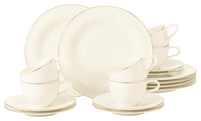 Polévkový talíř 22,5cm MEDINA GOLD, Seltmann Weiden - 4