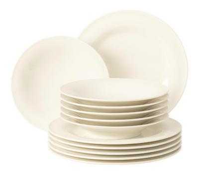 Polévkový talíř 22,5cm MEDINA CREME, Seltmann Weiden - 4