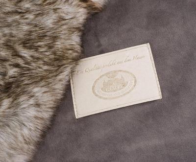 Kožešinová deka  150x200, vzor medvěd KODIAK, Gözze - 4