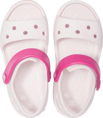 Sandály CROCBAND SANDAL KIDS J1 barely pink/candy pink, Crocs - 4