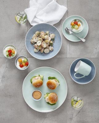 Talíř jídelní WAYFARER 27 cm - seafoam, Maxwell & Williams - 4