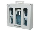 SET 5ks - karafa se sklenicemi v dárkovém balení, recyklované sklo, Kaemingk - 4/4