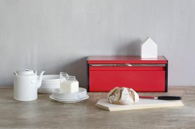 Chlebník FALL FRONT - zářivě červená, Brabantia - 5