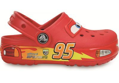 Boty LIGHTS CARS CLOG C12 red, Crocs - 5