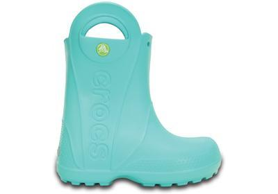 Holínky HANDLE IT RAIN BOOT KIDS C11 pool blue, Crocs - 5