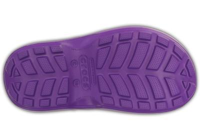 Holínky HANDLE IT RAIN BOOT KIDS J3 neon purple, Crocs - 5