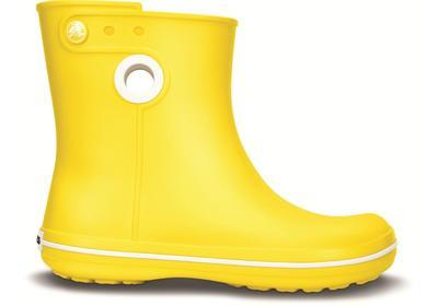 Holínky WOMEN'S JAUNT SHORTY BOOT W11 yellow, Crocs - 5
