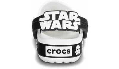 Boty STAR WARS STORMTROOPER CLOG C8/9 white/black, Crocs - 5