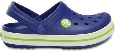 Boty CROCBAND KIDS C6/7 cerulean blue/volt green, Crocs - 5