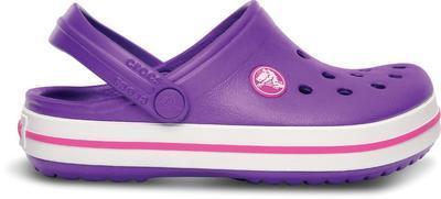 Boty CROCBAND KIDS C6/7 neon purple/neon magenta, Crocs - 5