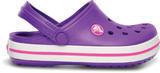 Boty CROCBAND KIDS C6/7 neon purple/neon magenta, Crocs - 5/7