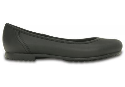 Balerínky MARIN COLORLITE FLAT W6 black/black, Crocs - 5