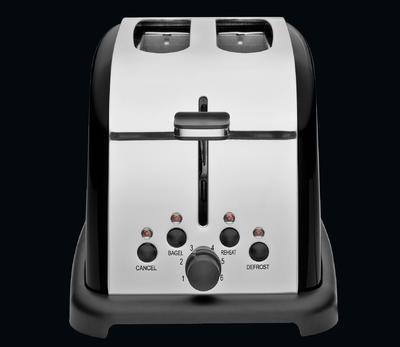 Toaster na dva plátky RETRO - černý, Cilio - 5