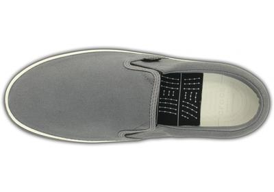 Boty NORLIN SLIP-ON MEN'S M10 charcoal/white, Crocs  - 5