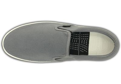 Boty NORLIN SLIP-ON MEN'S M13 charcoal/white, Crocs - 5