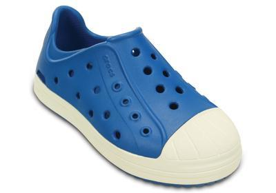 Boty BUMP IT SHOE KIDS C10 ultramarine/oyster, Crocs - 5