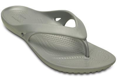 Žabky WOMEN'S KADEE II FLIP W6 silver, Crocs - 5
